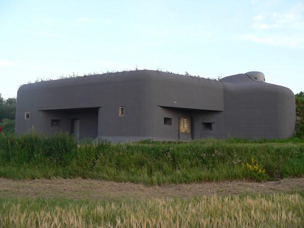 Dyjakovice bunkr - malířské práce 1