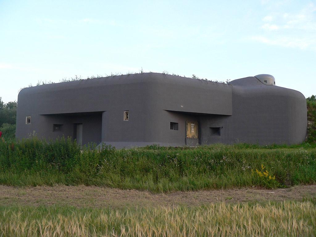 Natěračské práce Dyjákovice bunkr 1