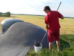 Natěračské práce Dyjákovice bunkr 4