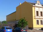 Restaurace a penzión Podzámčí - Malířské práce fasáda 2