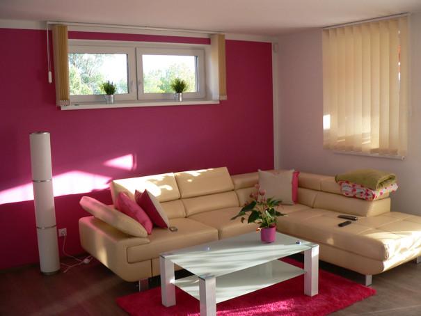Obývací pokoj - malířské práce 1