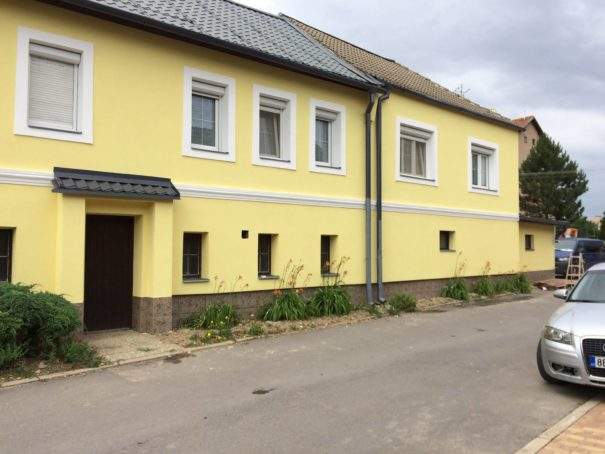 Malování fasády 3 1